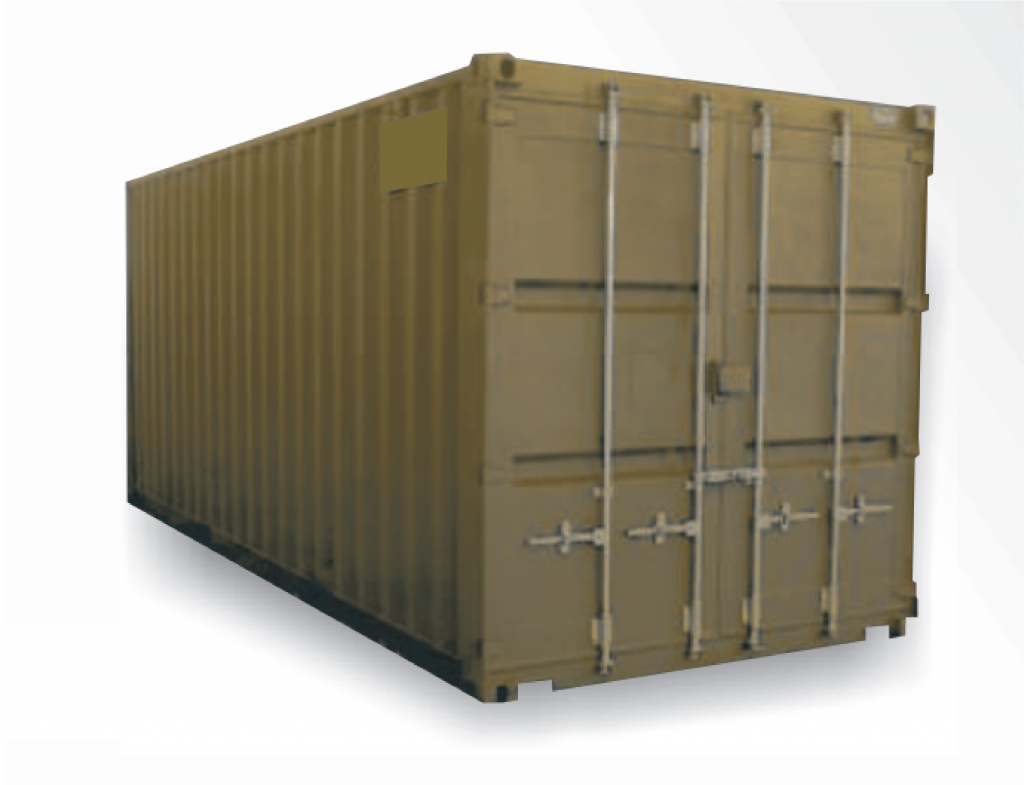 Container in oliv